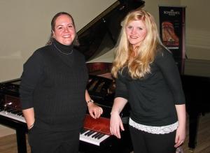 Michele McLaughlin and I at my Idaho Falls Concert
