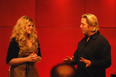 Jennifer Thomas with Jace Vek