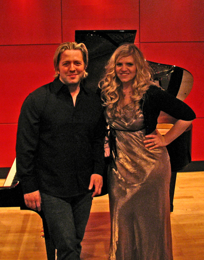 Jennifer Thomas and Jace Vek