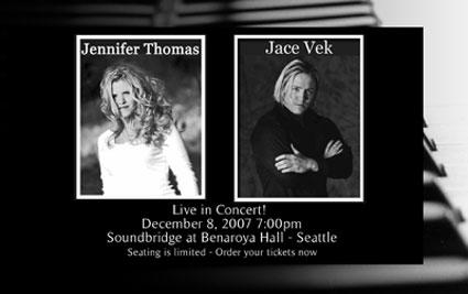 Jace Vek and Jennifer Thomas