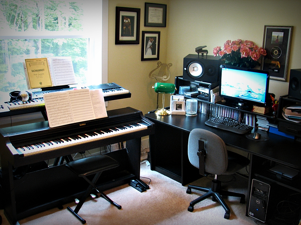 Building your own home studio musical meanderings for Musik hause