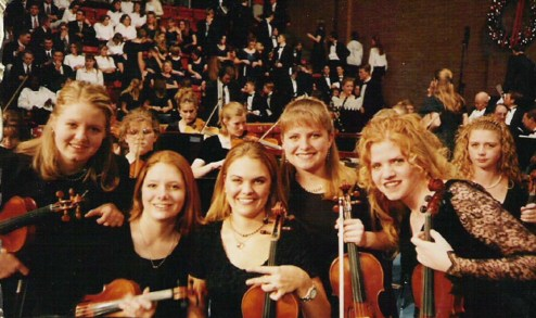 Orchestra girls 1998 Ricks