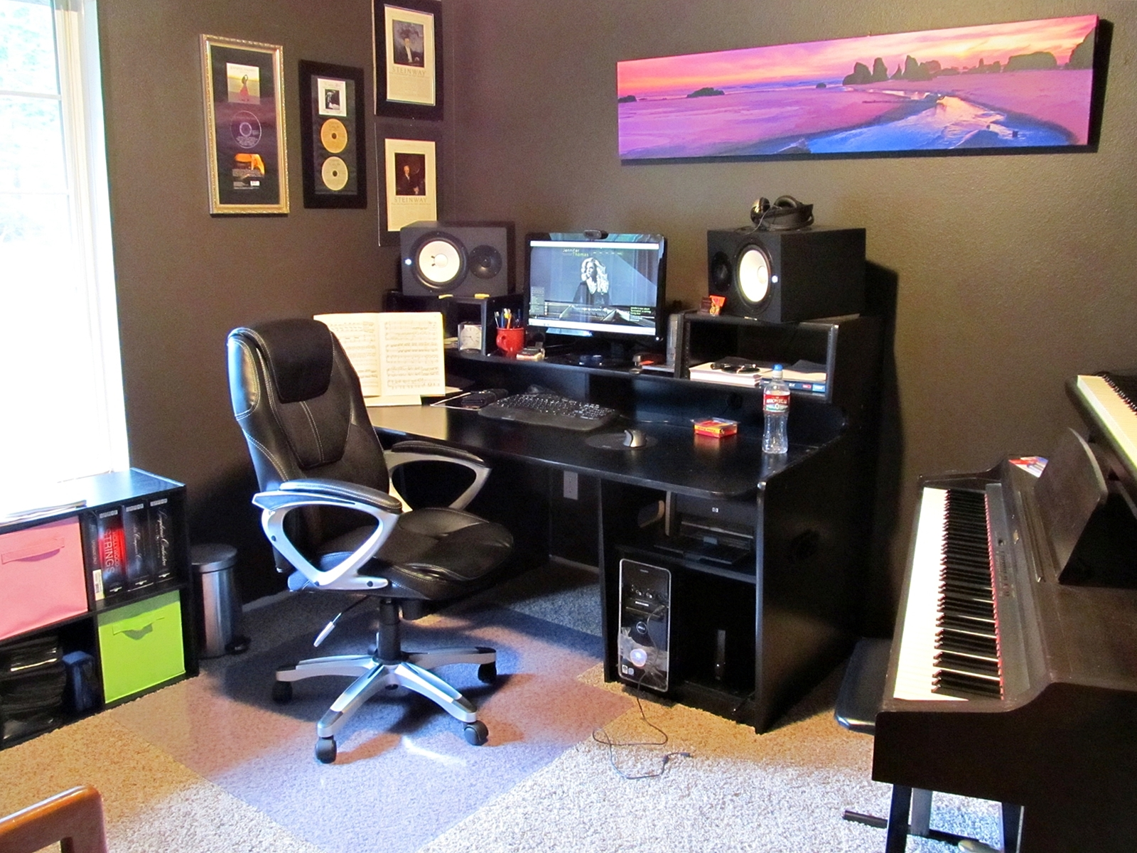 Admirable Diy Music Studio Musical Meanderings Largest Home Design Picture Inspirations Pitcheantrous