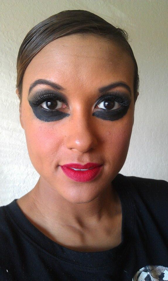 Black And White Dress Makeup Ideas Saubhaya Makeup