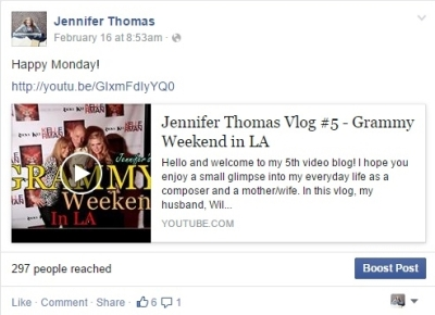 FB new vlog 3